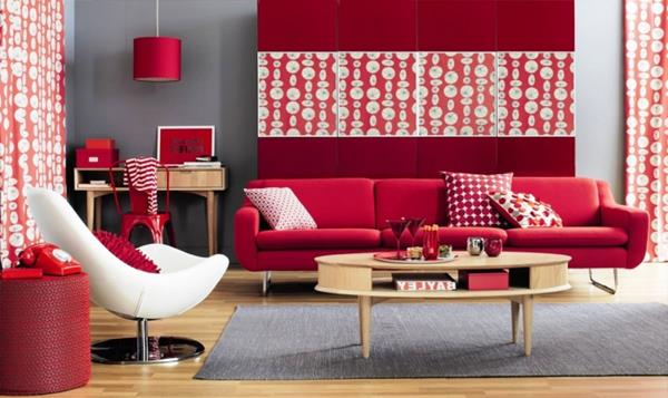 Red living room decorations living room for Red living room ideas
