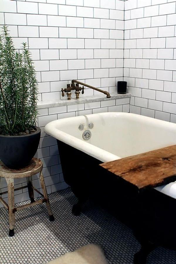 vintage bathroom stylish design