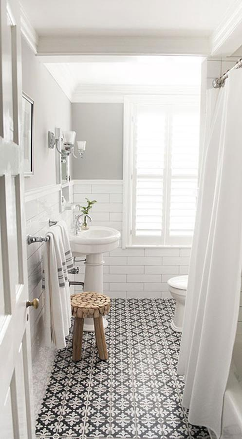 vintage bathroom decoration ideas 11