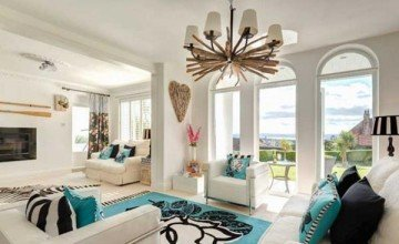 Summer House Living Room Interior Design 13