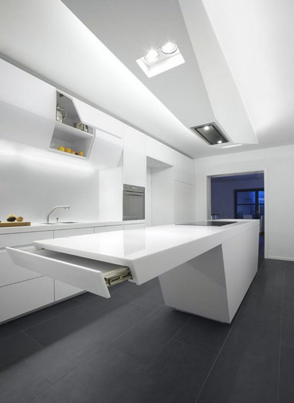 futuristic kitchen design