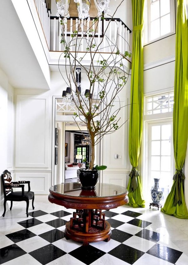 greenery home decor