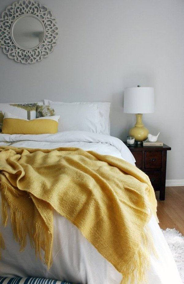 yellow bedroom