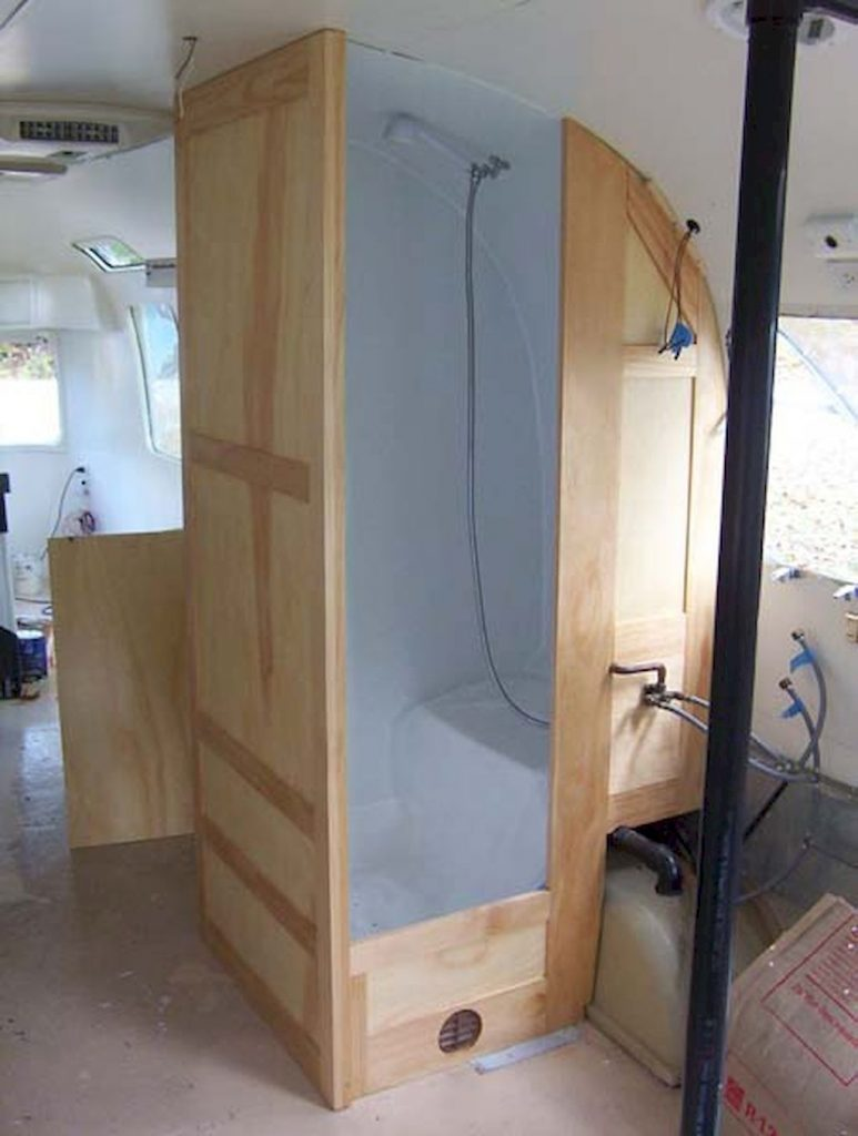 30 Simple DIY Rv Shower Remodel Ideas for Amazing Camper Experience (27)