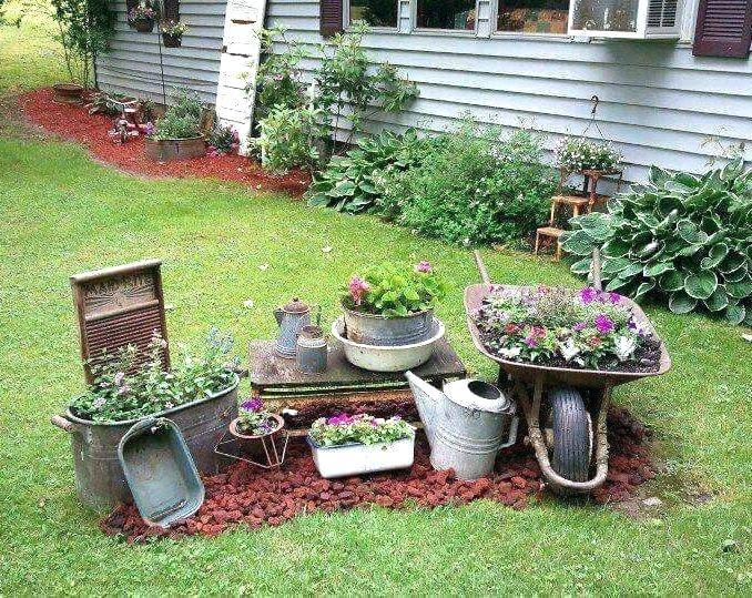 Rustic Garden Decoration Ideas